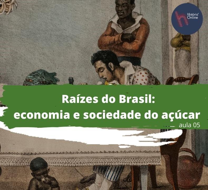 Raízes do Brasil: economia e sociedade do açúcar