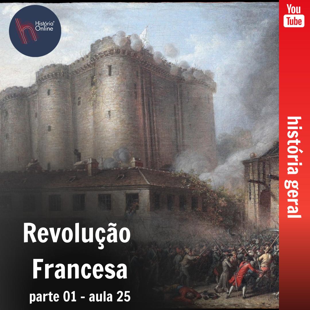 Revolução Francesa – parte 01 (aula 25)
